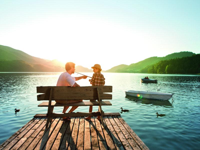 Stille und prickelnde Erlebnisse an der Riviera Österreichs