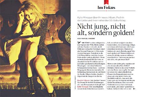 Kylie Minogue über ihr neues Album, Pech in der Liebe und ihren nahenden 50. Geburtstag