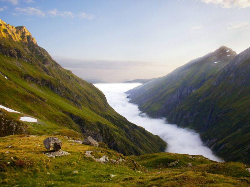 Spektakuläres Naturerlebnis im größten Nationalpark der Alpen