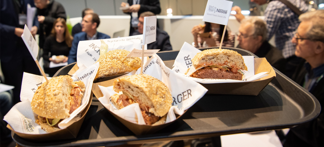 Grüne Woche:<br/>So schmeckt der Incredible Burger