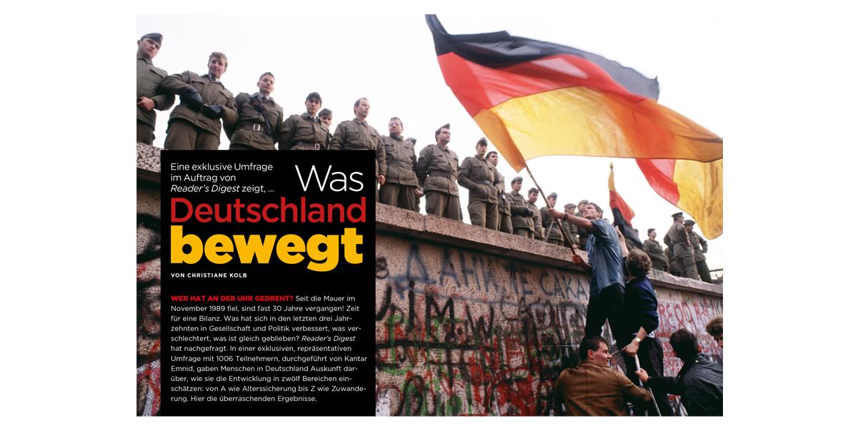 30 Jahre Mauerfall: Alles gut in Deutschland?