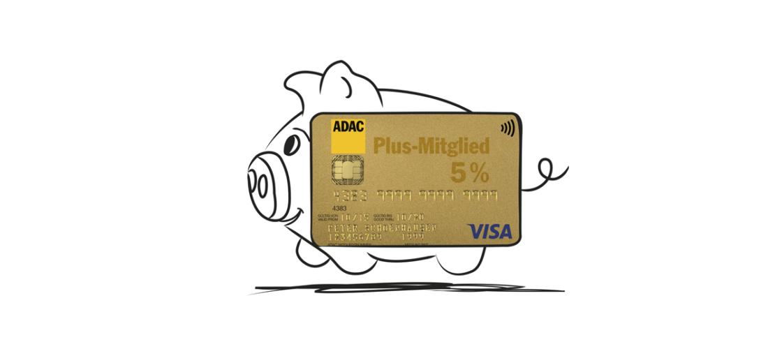 Kreditkartengebühr sparen und Vorteile nutzen<br/> – mit der ADAC Kreditkarte GOLD