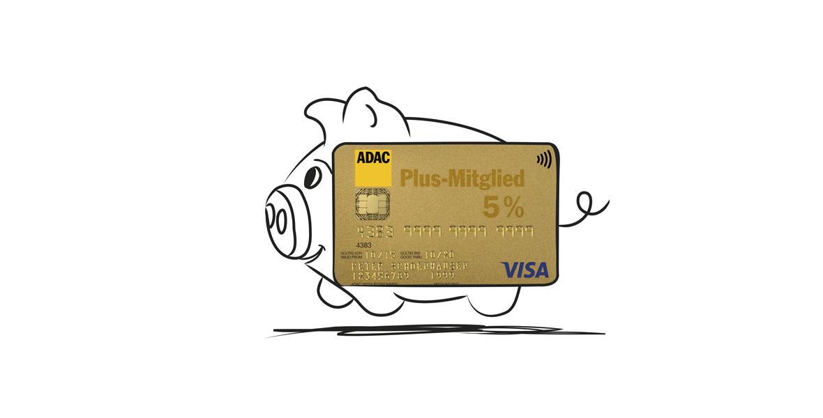 Kreditkartengebühr sparen und Vorteile nutzen<br/> &#8211; mit der ADAC Kreditkarte GOLD