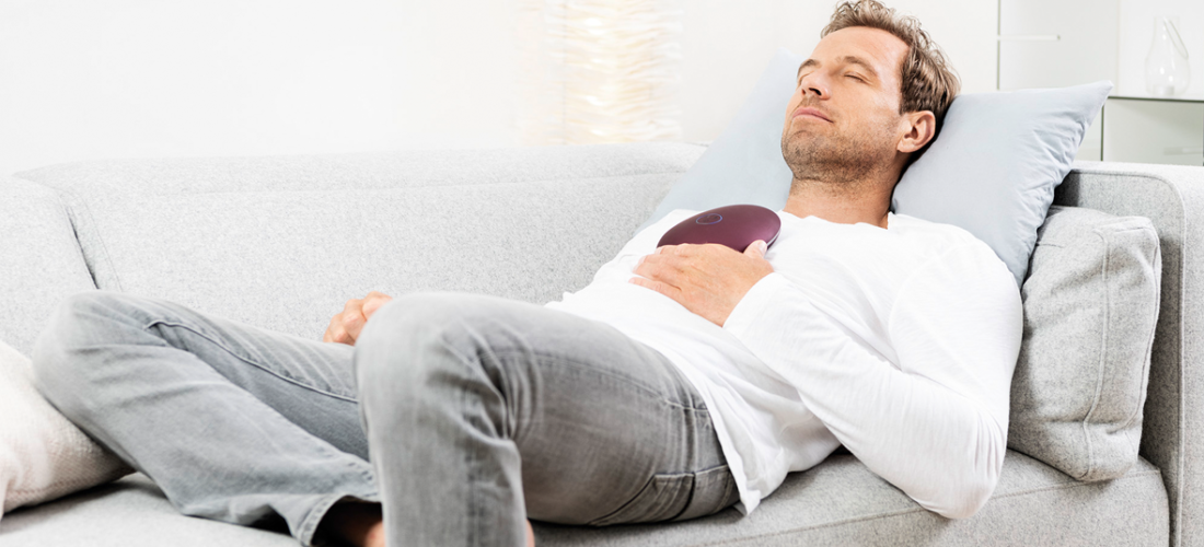 Körper und Geist in Balance <br/>mit dem Beurer stress releaZer