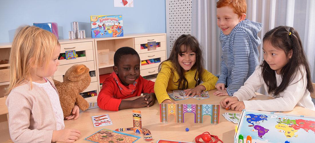 Spiele, die Kinder aus aller Welt verbinden