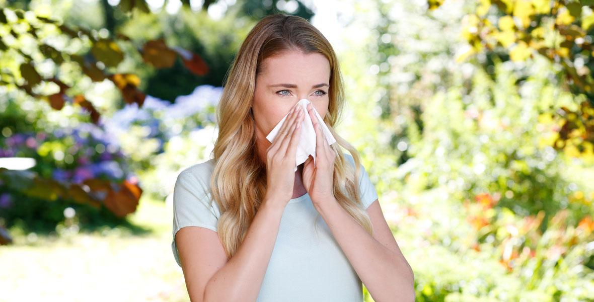 Pollen in der Stadt vs. auf dem Land