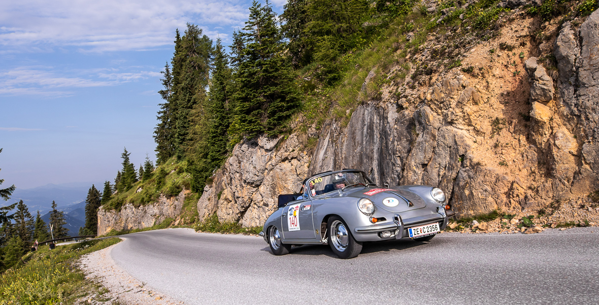 Ennstal Classic 2019<br>Oldtimer Rallye im Bergparadies