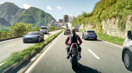 Motorrad fahren, aber sicher!