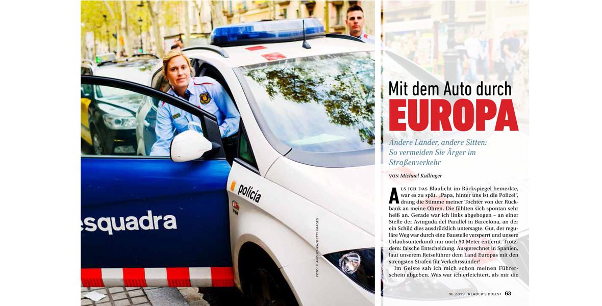 Mit dem Auto durch Europa – Wie sich Ärger im Straßenverkehr vermeiden lässt