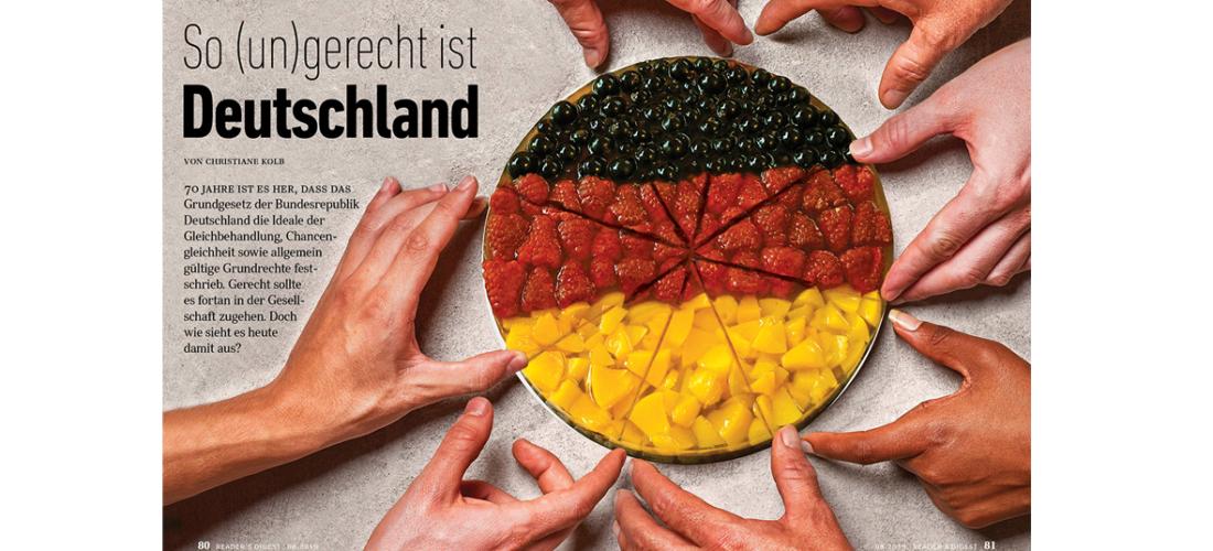 Aktuelle Umfrage: <br/>So (un)gerecht ist Deutschland