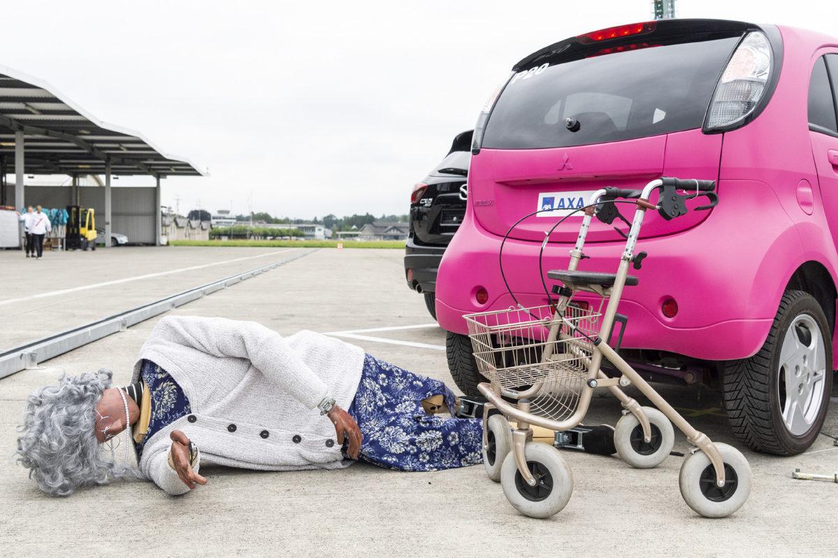 AXA Crashtests: Verkehr unter Strom