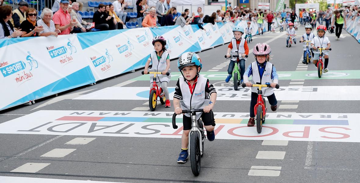 Radeln wie die Profis – <br> die kinder + Sport mini Tour 2019