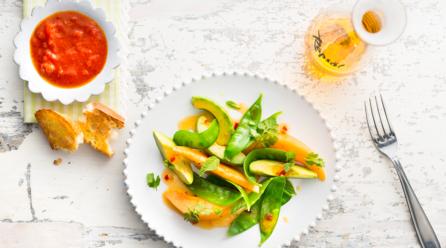 Salatliebe: raffinierte Dressings mit Rapsöl