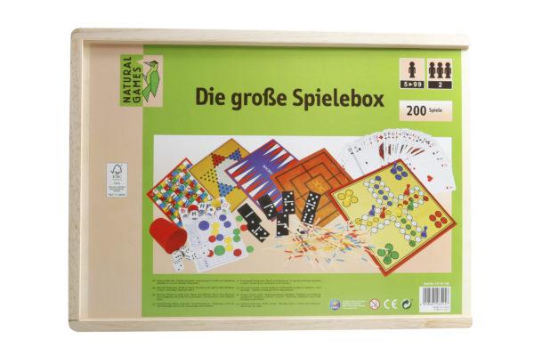 Holz-Spielesammlung von Natural Games