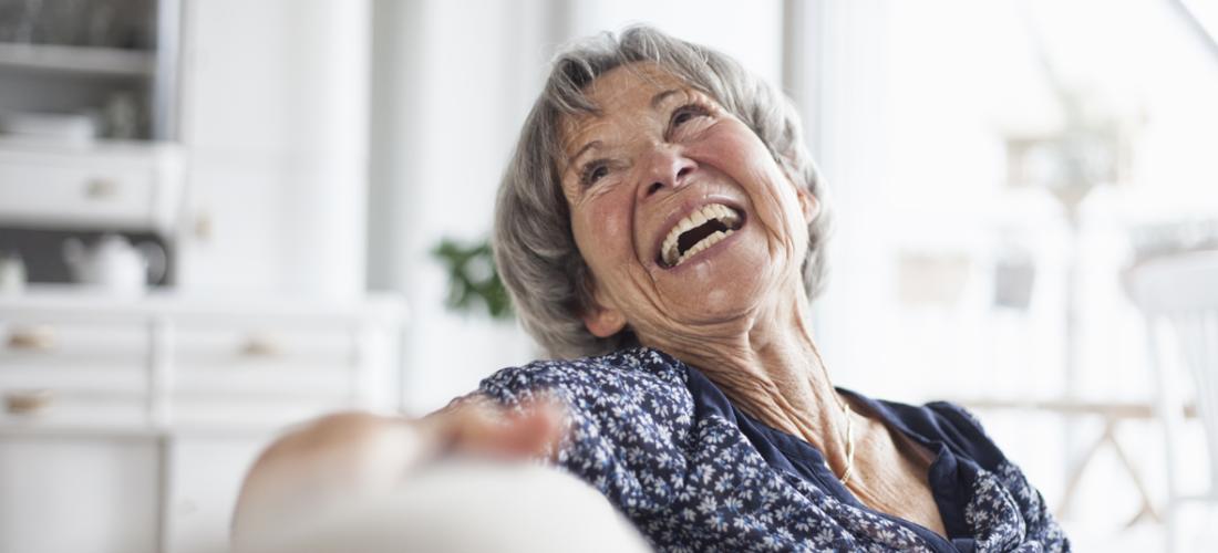 Im Alter zu Hause wohnen bleiben