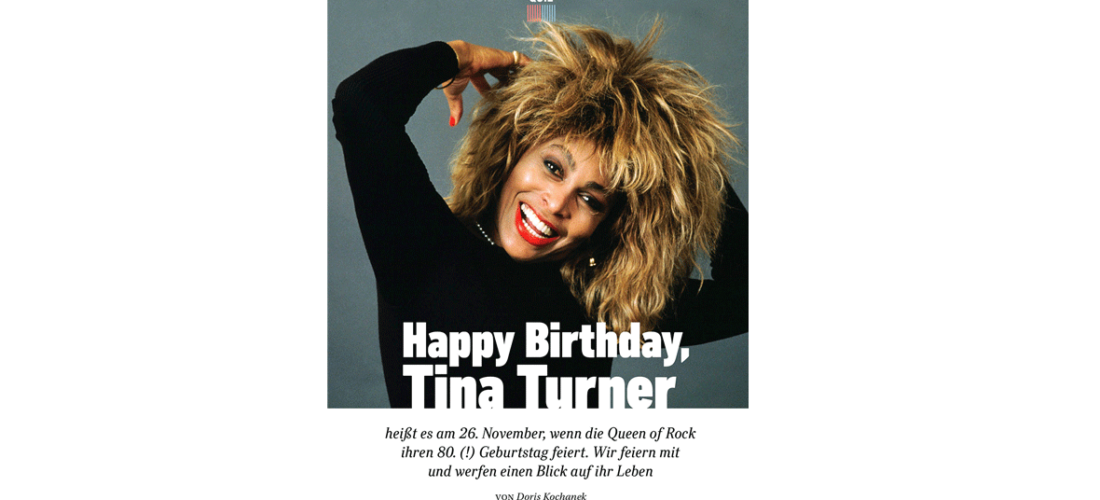 Happy Birthday! <br/>Tina Turner wird 80