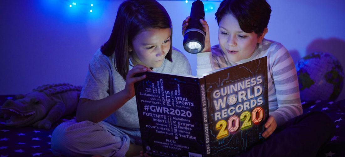 Gewinnspiel zu Weihnachten: Guinness World Records 2020