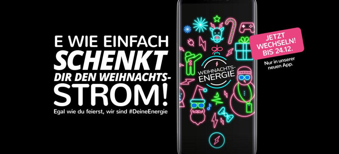 Egal wie du feierst, wir sind #Deine Energie