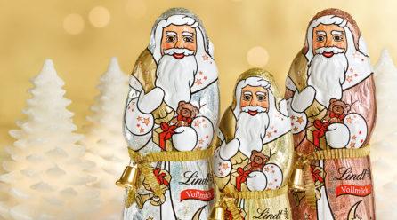 Läuten Sie Weihnachten ein – mit zartschmelzenden Schokoladen-Spezialitäten von Lindt