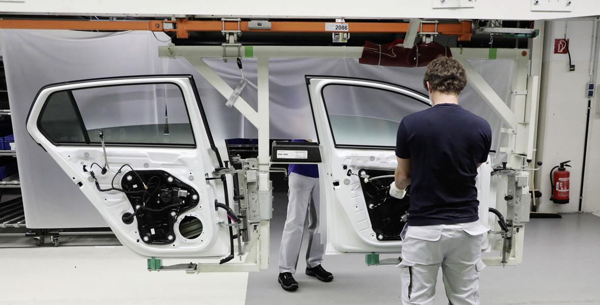 Volkswagen vernetzt seine Fabriken