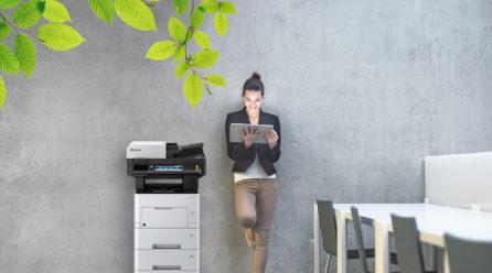Print Green: Mit Kyocera umweltfreundlich drucken und kopieren