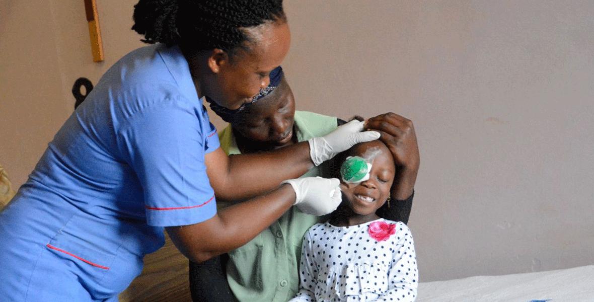 Christoffel-Blindenmission feiert <br>15-millionste OP am Grauen Star