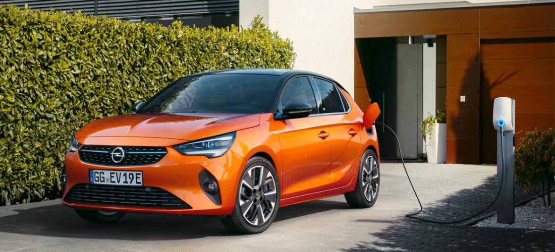 Goldenes Lenkrad für Opel Corsa-e