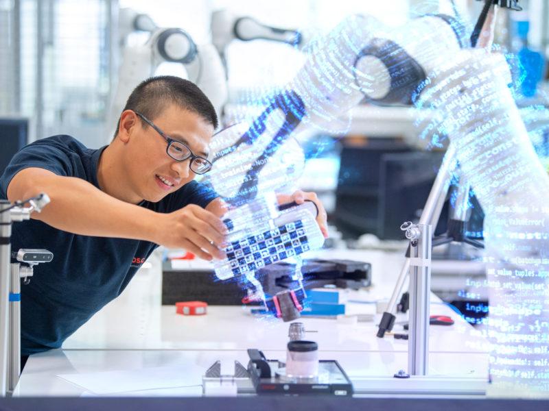 Technologieunternehmen Bosch: Geschäftsentwicklung 2020 besser als erwartet