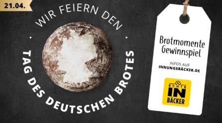 Tag des Deutschen Brotes am 21. April