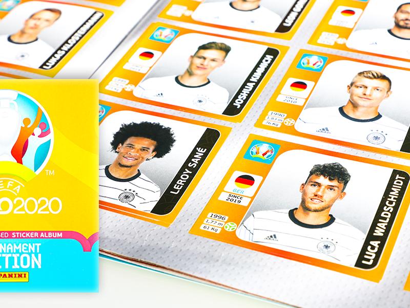 Endlich wieder Sammelfieber! <br/>Die offizielle UEFA Euro 2020™ Tournament Edition Stickerkollektion von Panini