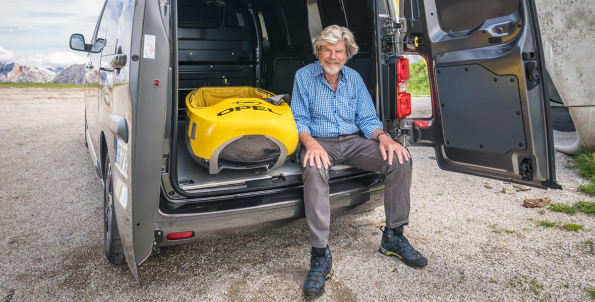Mobil in den Mountains – <br/>Reinhold Messner über Elektro-Mobilität