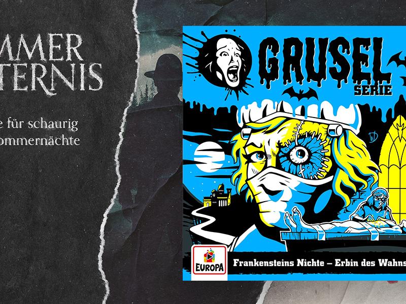 Gruseln mit Désirée Nick: <br/>Hörspiel um Frankensteins Nichte
