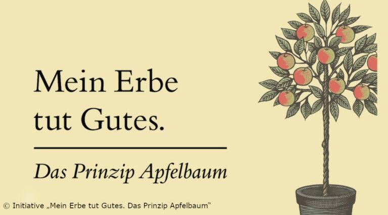 "Initiative ""Mein Erge tut Gites. Das Prinzip Apfelbaum"""